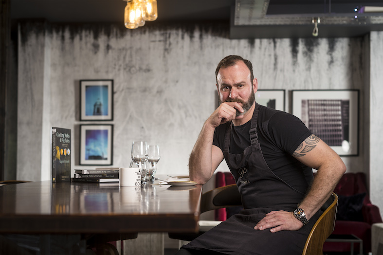 celebrity chef Glynn Purnell
