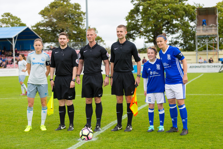 Birmingham City Ladies FC  won against Everton Ladies FC