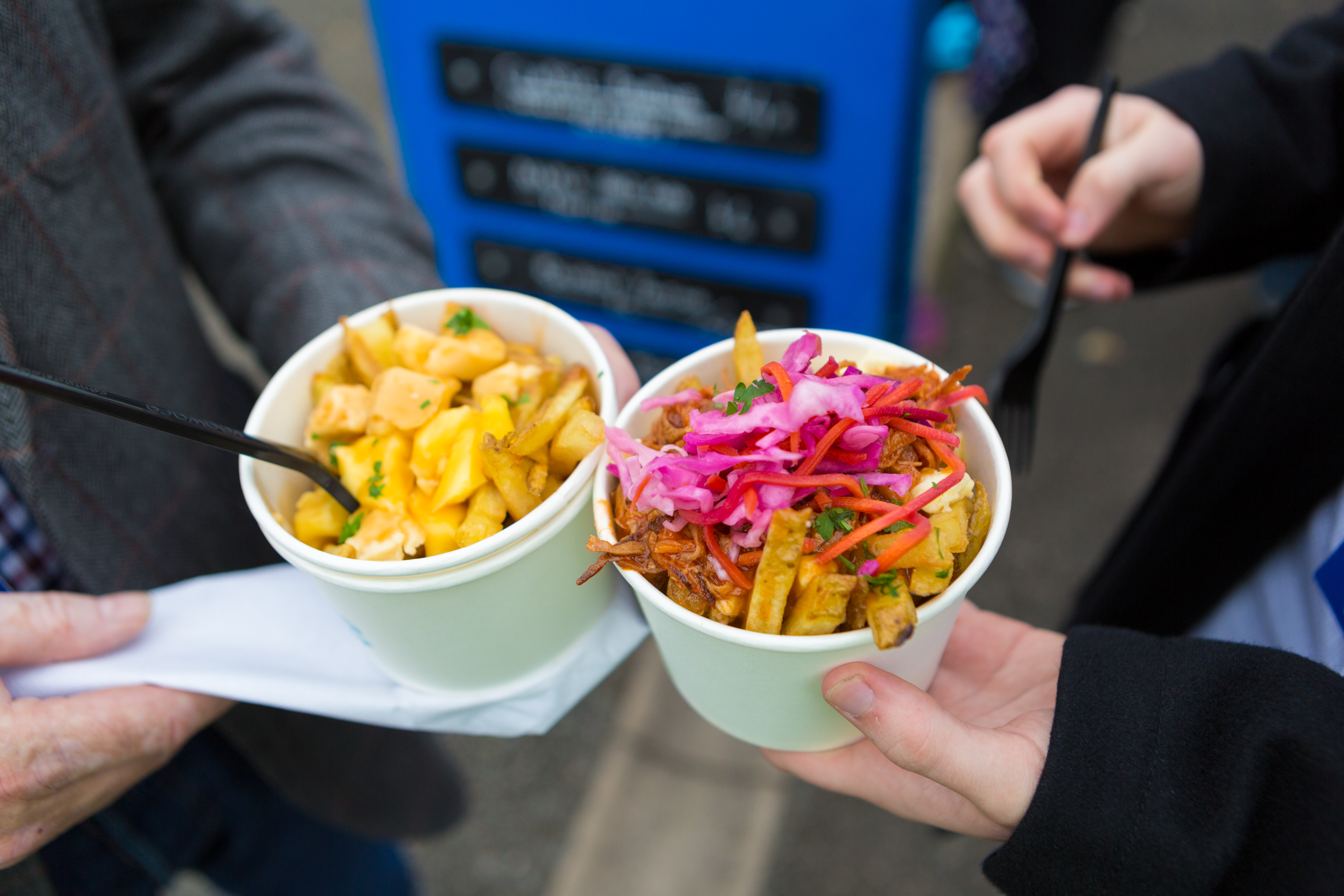 Québec-style poutinerie highlights the use of maple in great tasting food