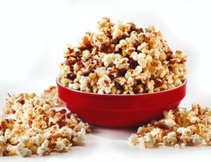 Maple Syrup and Popcorn Nut Brittle