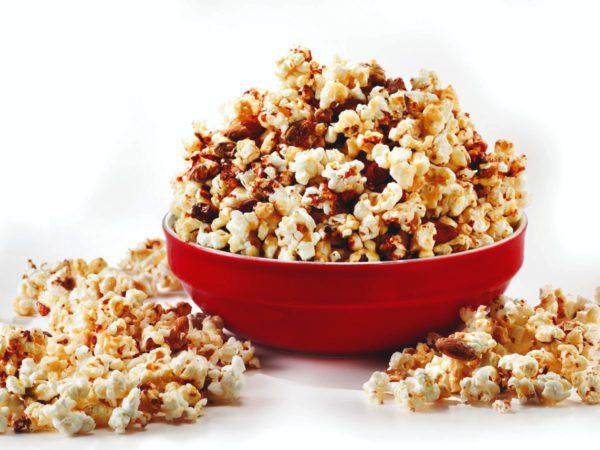 Recette — Popcorn aux noix et à l'érable