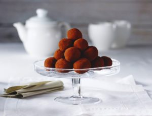 Maple Almond Truffles