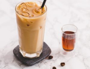 Maple iced coffee