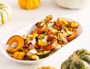 Maple-Glazed Roast Pumpkin
