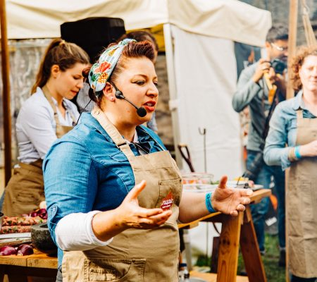 Bringing the magic of maple products to Abergavenny Food Festival