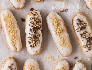 Emma Duckworth's Maple Eclairs