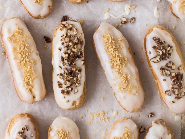 Maple Syrup Eclairs
