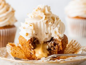 The Loopy Whisk's Vegan Maple Pecan Cupcakes