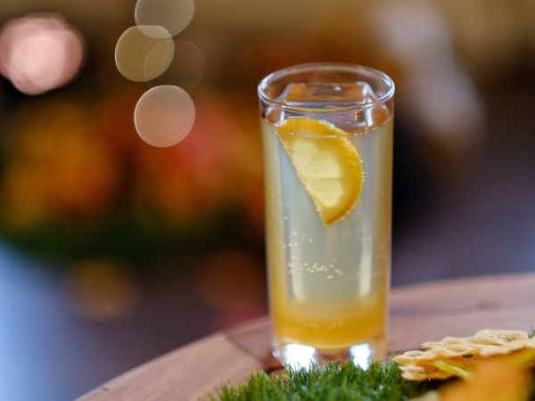 Maple syrup breakfast collins