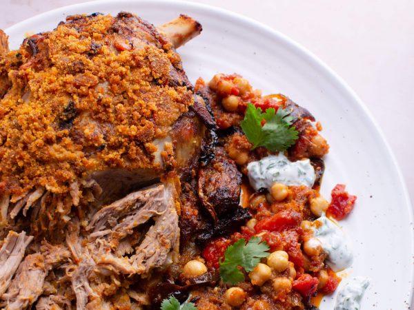 Moroccan lamb