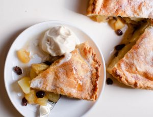 Maple and Apple Pot Pie