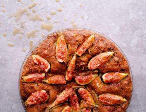 Fig and Maple Frangipane Tart