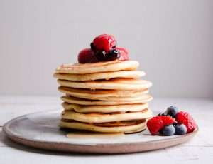 David Colcombe's Maple Vegan Pancakes