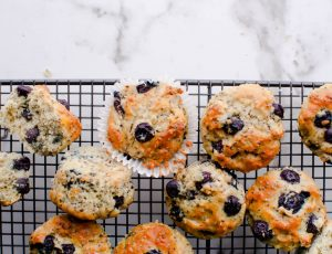 Maple and Blueberry Muffins