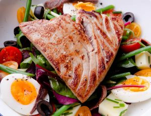 Salad Niçoise with Maple