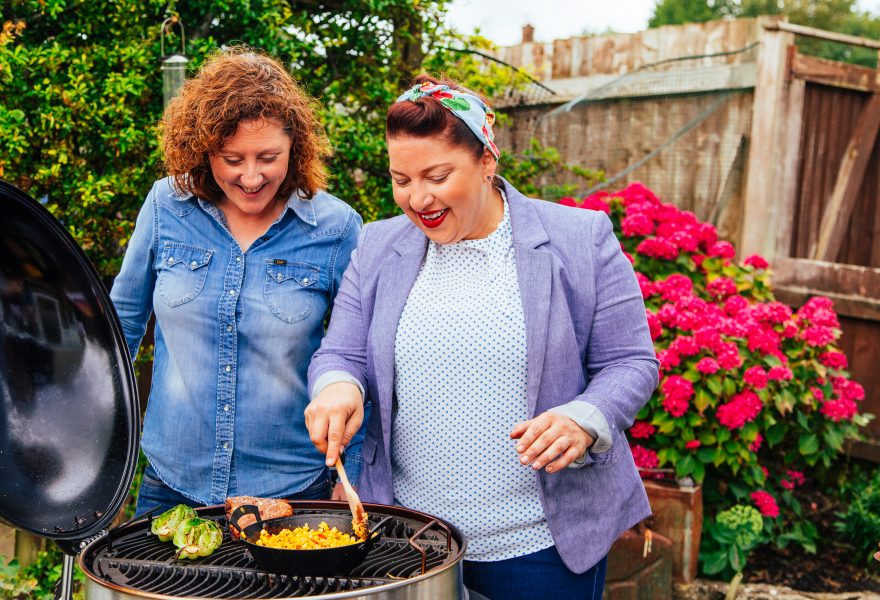Sam and Shauna's BBQ recipes with maple syrup