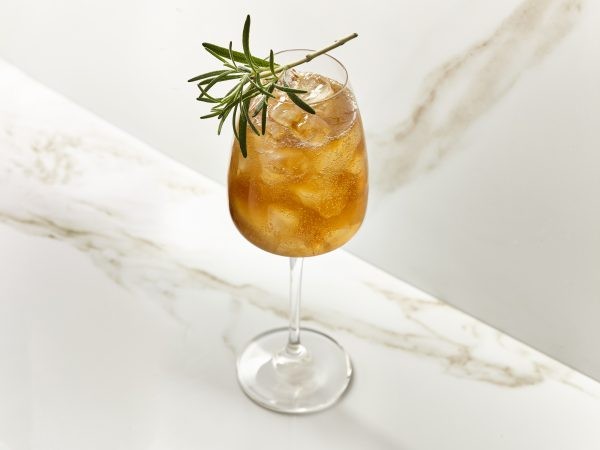 Maple Spritz cocktail