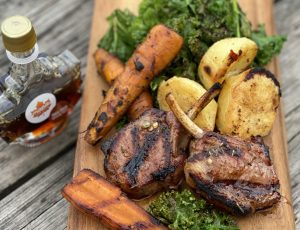 BBQ Forte's Chimichurri Maple Lamb