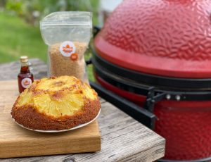 BBQ Forte's Maple Pineapple Upside Down Cake