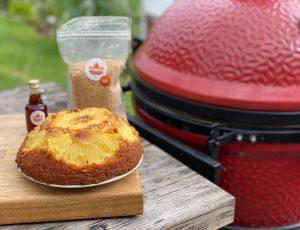 BBQ Forte's Maple Pineapple Upside Down Cake