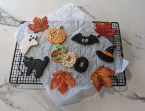 Maple and Cinnamon Halloween Sugar Cookies