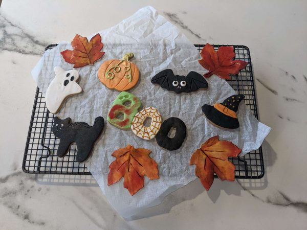Maple Halloween cookies