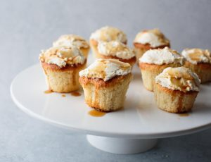 Maple Syrup Cupcakes with Cream Cheese Frosting