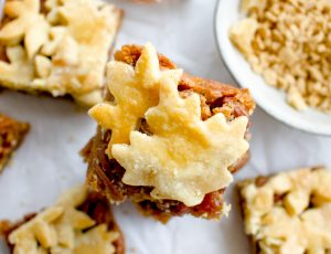 My Kitchen Drawer's Maple Pecan Pie Bars