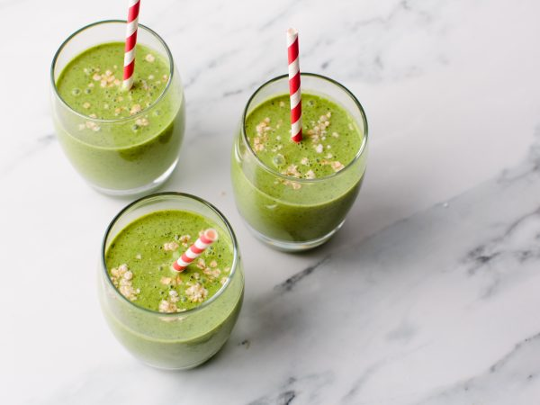 Apple kale and maple smoothie