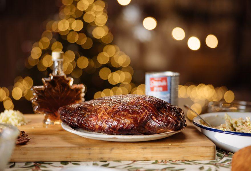 Maple Bacon Weave Smokey Turkey