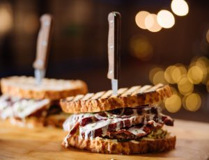 Hang Fire's Ultimate Maple Christmas Sandwich