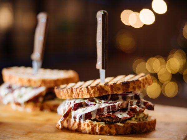 Ultimate Maple Christmas Sandwich