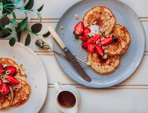 The Sasha Diaries' Vegan Pancakes
