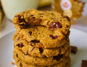 The Healthy Beard's Vegan Sweet Potato, Chocolate and Maple Cookies