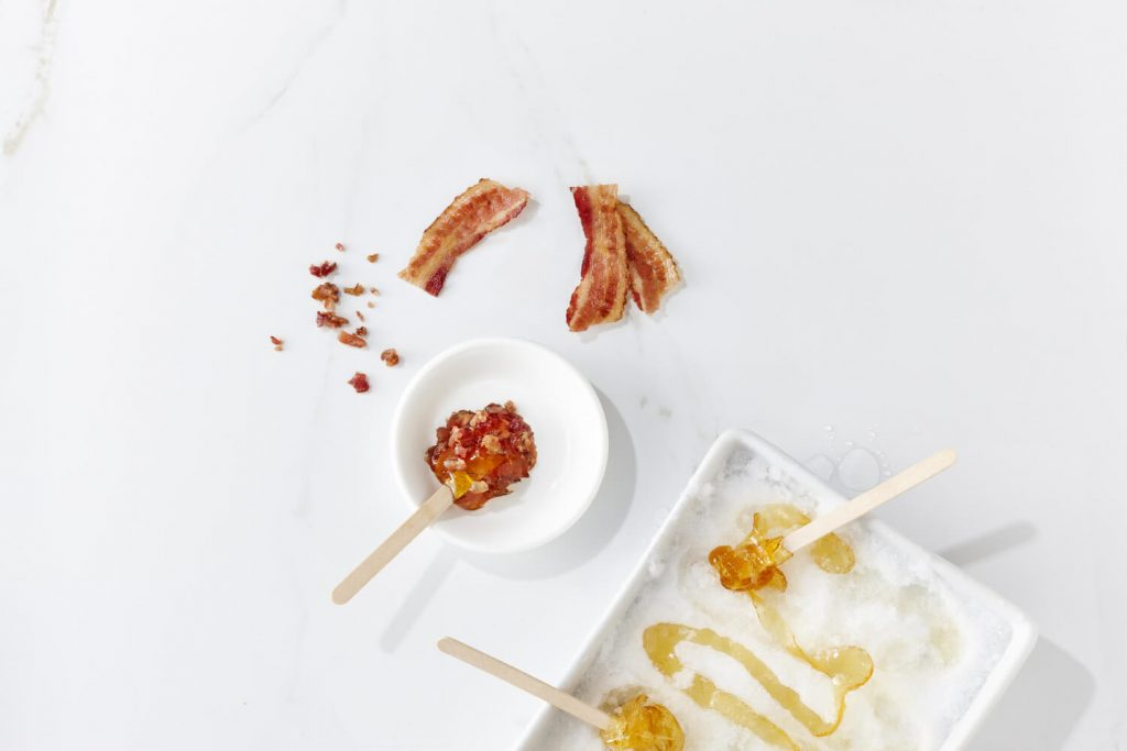 maple taffy bacon