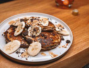 Lydia Mecklenburgh's Banana Bread Pancakes