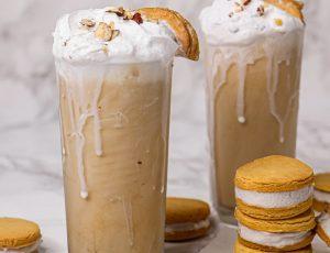Lissa Elle's Maple Sandwich Cookie Milkshake