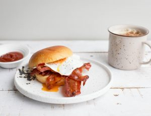 Maple Bacon Breakfast Bun
