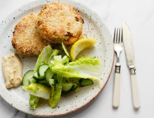Maple Smoked Salmon Fishcakes