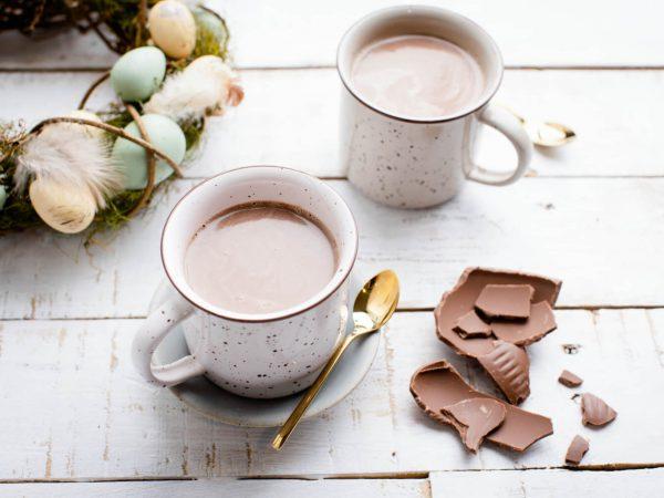 Ultimate maple hot chocolate