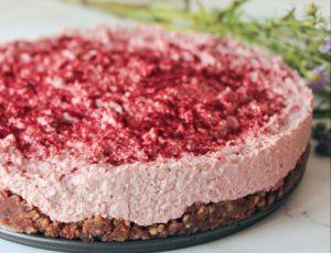 Francesca Willow's No Bake Maple Rhubarb Cake