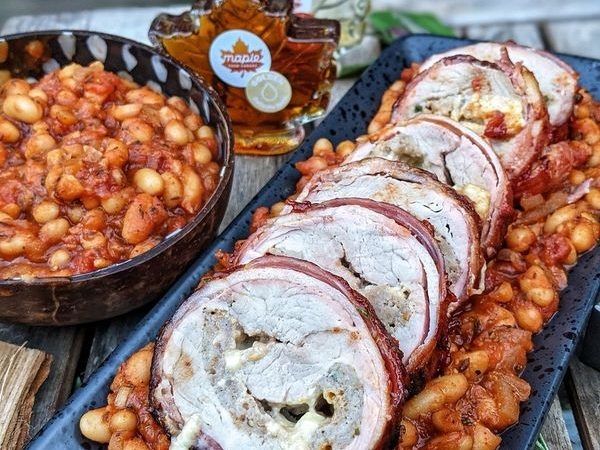 maple bbq pork and beans 2