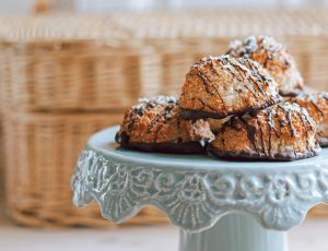 Katherine Littlejohn's Coconut and Maple Macaroons