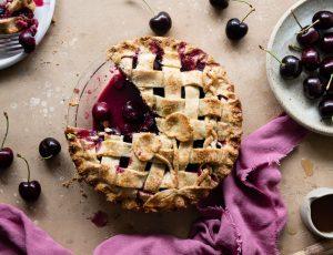 Naturally Natalie's Cherry Maple Pie