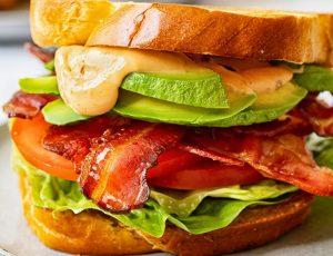 Julia Frey's Maple BLT Sandwich