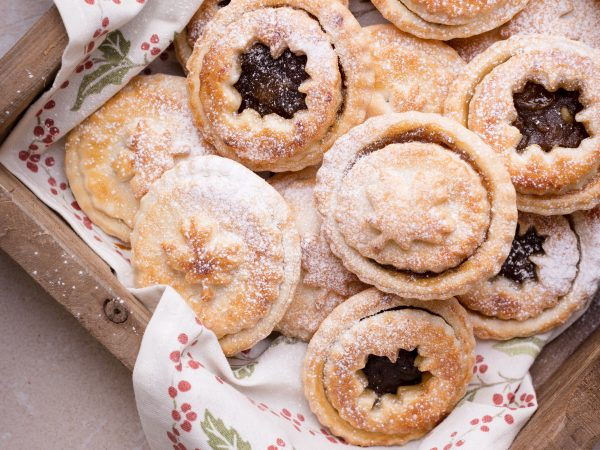 Maple Mince Pies in a box