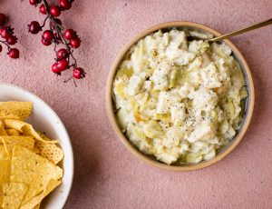 Cheese, Maple and Artichoke Dip