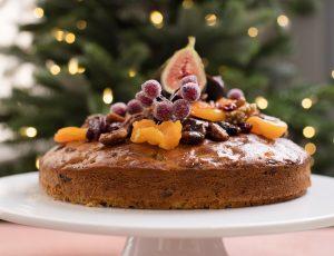 Christmas Maple Cake