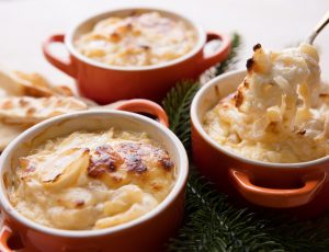 Baked Onion and Maple Dip
