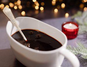 Christmas Maple Gravy